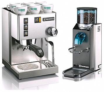 האופנה האופנתית מכונות קפה ביתיות | מכונת קפה טחון ופודים | רנצ`ליו - RANCILIO SS-22